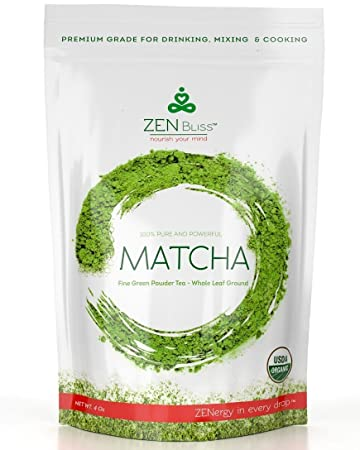Matcha Green Tea Powder, Premium Quality, Color & Taste, Antioxidant, Best  for Drinking Tea, Baking,