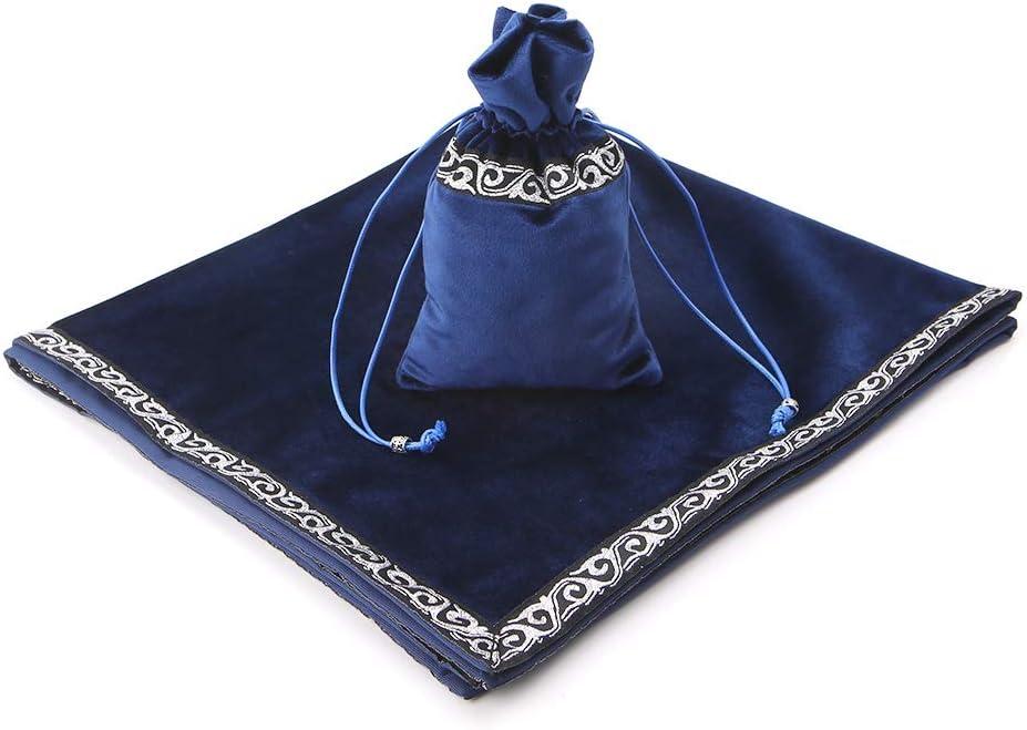 Velvet Tarot Tablecloth Divination Altar Tarot Cards Bag Board Game Accessories