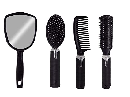 Buy AASA Combo of Parlor and Home use Hair Brushes for Girls and ... 658e098ed