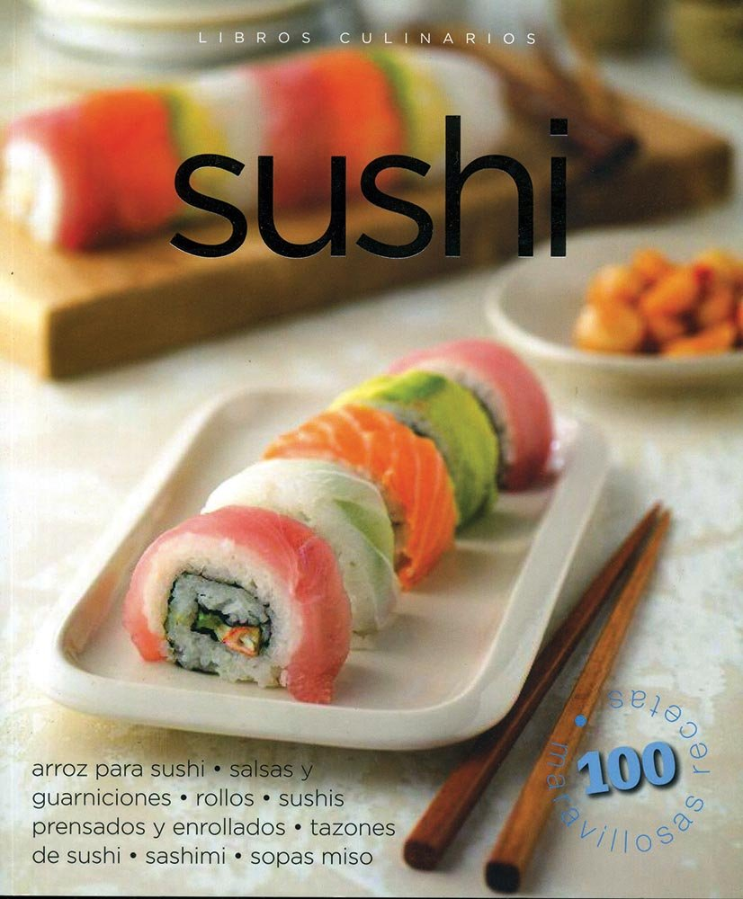 Sushi (Libros culinarios / Culinary Notebooks) (Spanish Edition): Carla Bardi: 9786074047448: Amazon.com: Books