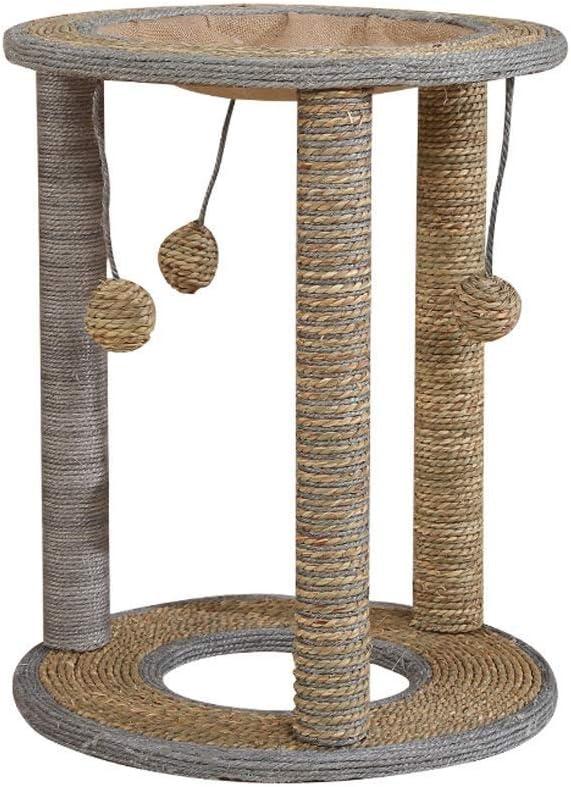 ペットの家具猫の木猫スクラッチボードミニ猫クライミングフレーム猫のおもちゃハンモックエンターテイメントセンターマルチサイズオプション (設計 : A)  A
