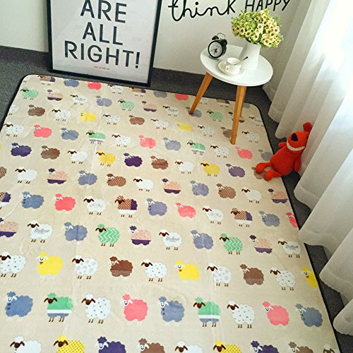 Cusphorn Kids' Play Mat Cute Cartoon Children's Room Decor Anti-slip Floor Play Game Mat Baby Crawling Mat, - Next Ups Times Delivery Day