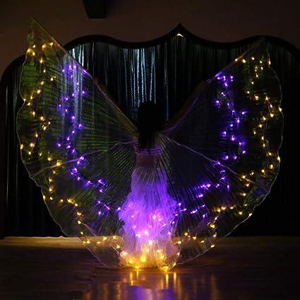 Z&X Dance Fairy Apertura Danza del Vientre Danza LED ISIS ...