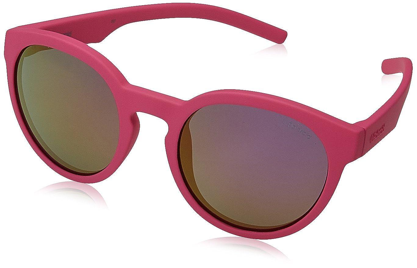 Polaroid PLD 8019/S AI CYQ Gafas de sol, Rosa (Dark Pink Grey Speckled Pz), 45 Unisex Niños