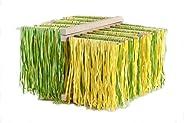 Eppicotispai X-Large Natural Beachwood Collapsible Pasta Drying Rack, Brown (Renewed)