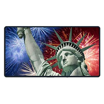 ASKSSD Alfombrilla de ratón Large Mouse Pad Fourth of July ...