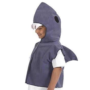 Childs Animal Tabard: Shark (disfraz): Amazon.es: Juguetes y juegos