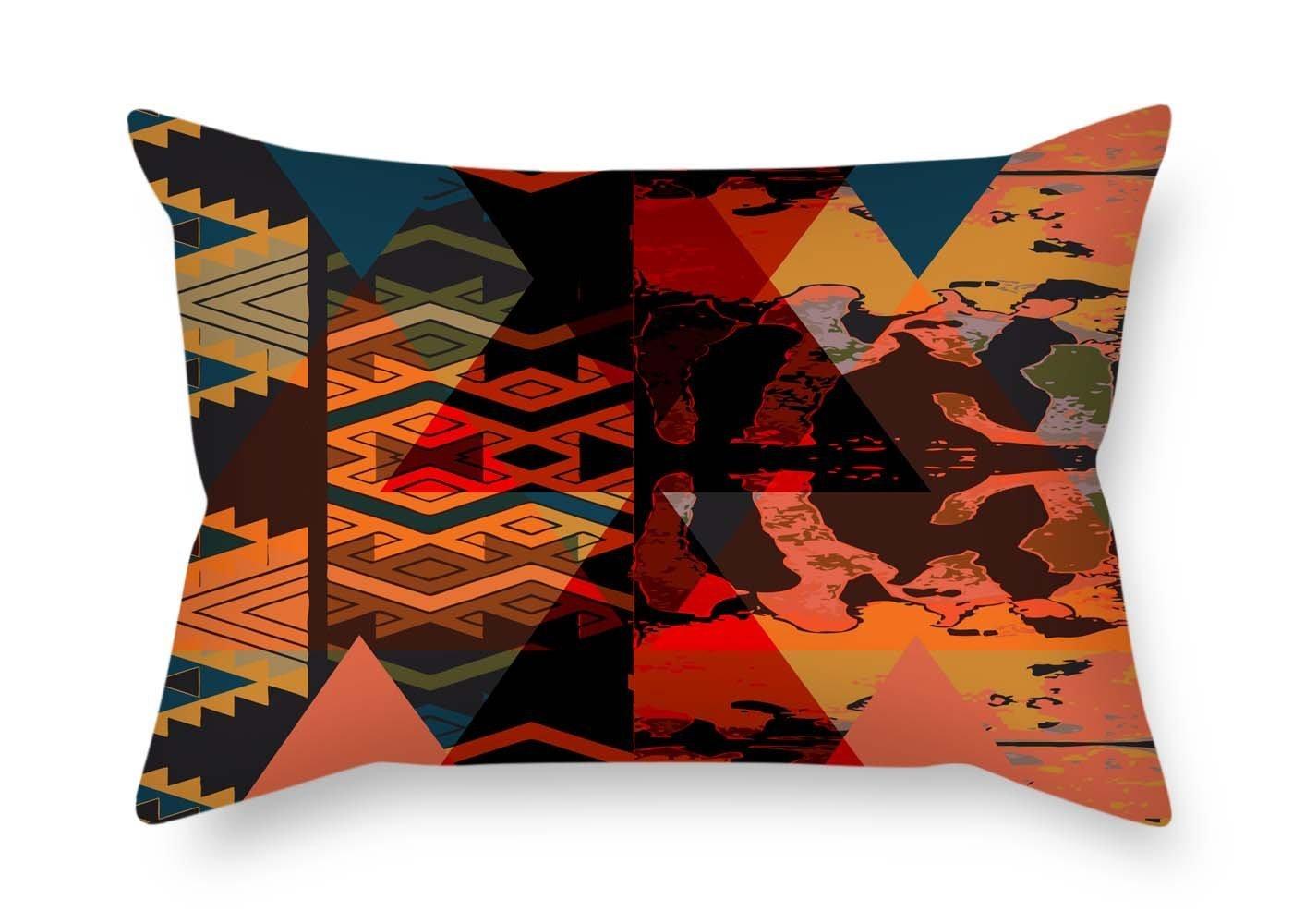 PaPaver 45, 7x 66cm/4565cm di Boemia copricuscini doppia lati ornamento e regalo per compleanno disegno Room lounge Her BF Kids Room ALovjp