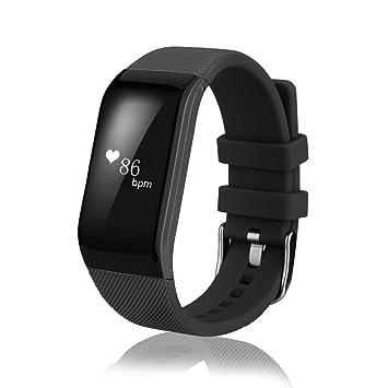 Diggro R1 - Pulsera Inteligente Smartwatch Impermeable Sport Rastreador Pasos, Calorías, Distancia, Ritmo Cardiaco, Call/SMS, Recordatorio Sedentaria