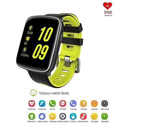 Amazon.com: SUHHO Smartwatch,Bluetooth Smart Watch ...