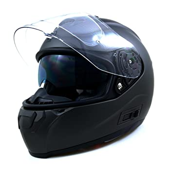 Amazon.es: Original Driver Casco Integral m-pull Pinlock, color gris mate, talla S