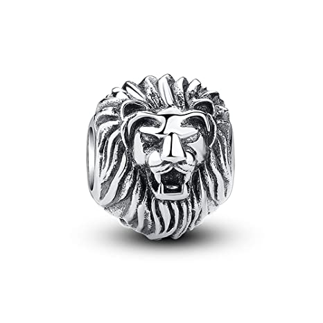 8b2e1f388 Image Unavailable. Image not available for. Color: Glamulet Art - Lion King  Charm -- 925 Sterling Silver