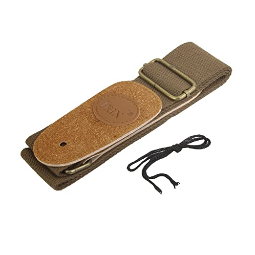Generic Adjustable Guitar Strap for Folk/Acoustic/Electri Guitar 15014669MG,Coffee
