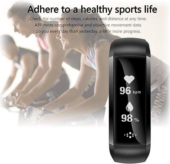 Smart Band, impermeable reloj inteligente pulsómetro actividad ...