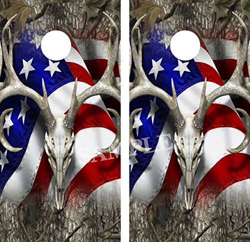Top recommendation for antlers vinyl decals for cornhole boards