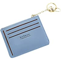 FeiyanfyQ Fashion Lettere Design Donne Ecopelle Portamonete portatessere Zipper Bag