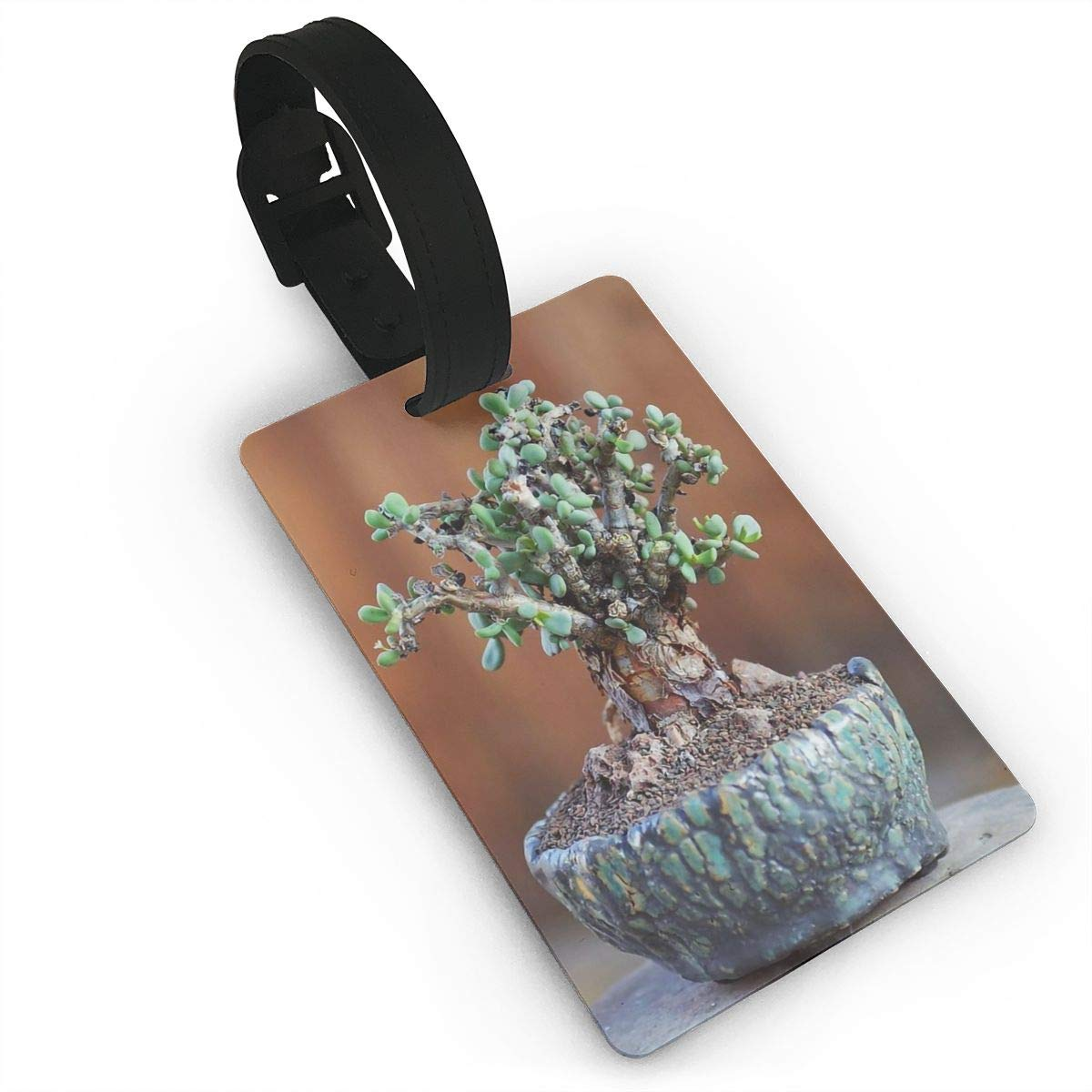 2 Pack Luggage Tags Bonsai Baggage Tag For Suitcase Bag Accessories