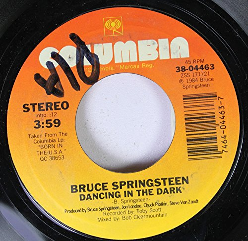 Bruce Springsteen 45 RPM Dancing in the Dark / Pink ()