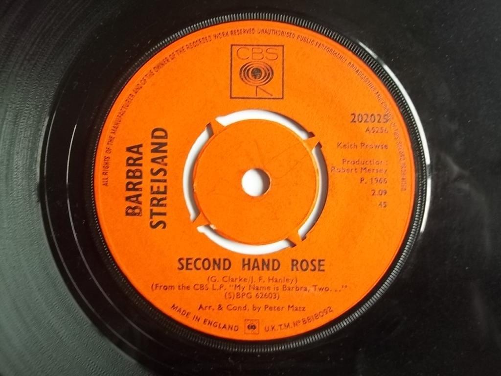 Barbra Streisand Second Hand Rose Amazoncom Music