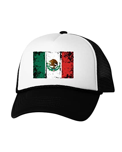 bf8cc55d4adda Vizor Mexico Flag Hat Mexico Trucker Hat Mexican Hat from Mexico ...