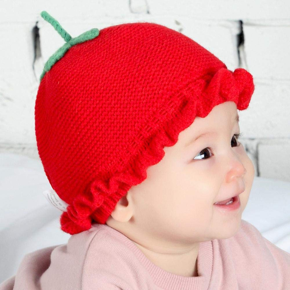 Myzixuan Baby Hat Newborn Knit hat 1-3 Year Old Baby Sweater hat