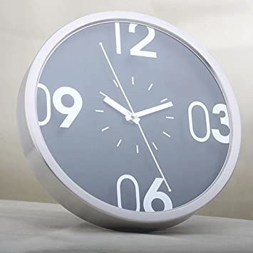 Relojes de pared GAOLILI Metal alambre de acero inoxidable ...
