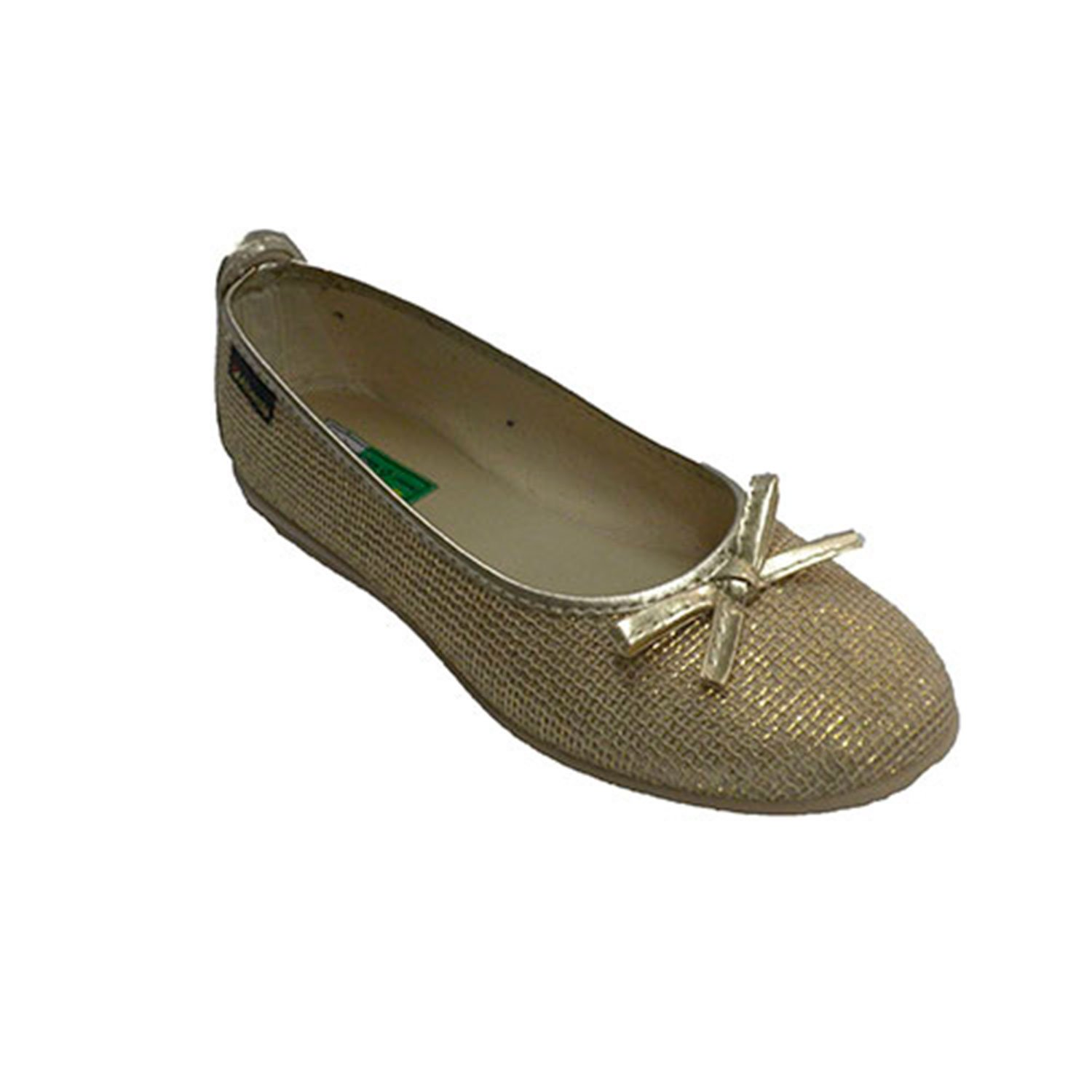 2290239e01a grid tie in flat pattern vamp woman Manoletina Alberola in golden size 37  EU  Amazon.co.uk  Shoes   Bags