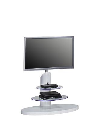 MAJA TV-Rack Fernsehständer inklusive LED-Beleuchtung in ...