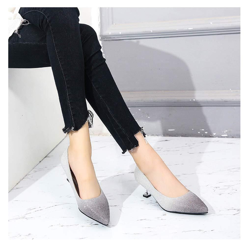 YAN Dame Schuh Sexy High Heel Frauen Frauen Frauen Pumpt Elegante Dame Kleid Schuhe Farbverlauf Supper Pumps Party & Evening 9c6626