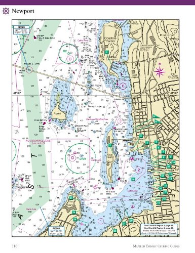 Maptech New England Coast Embassy Guide CGNEC10 MT-CGNE-10