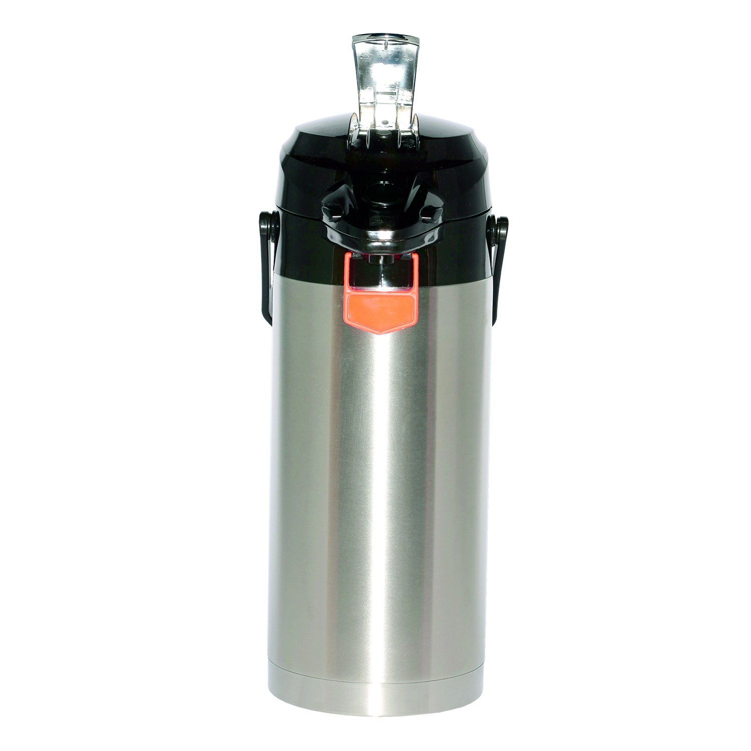 Service Ideas ENALS30S Airpot with Lever, Stainless Steel Lined NSF Listed, 3.0 L