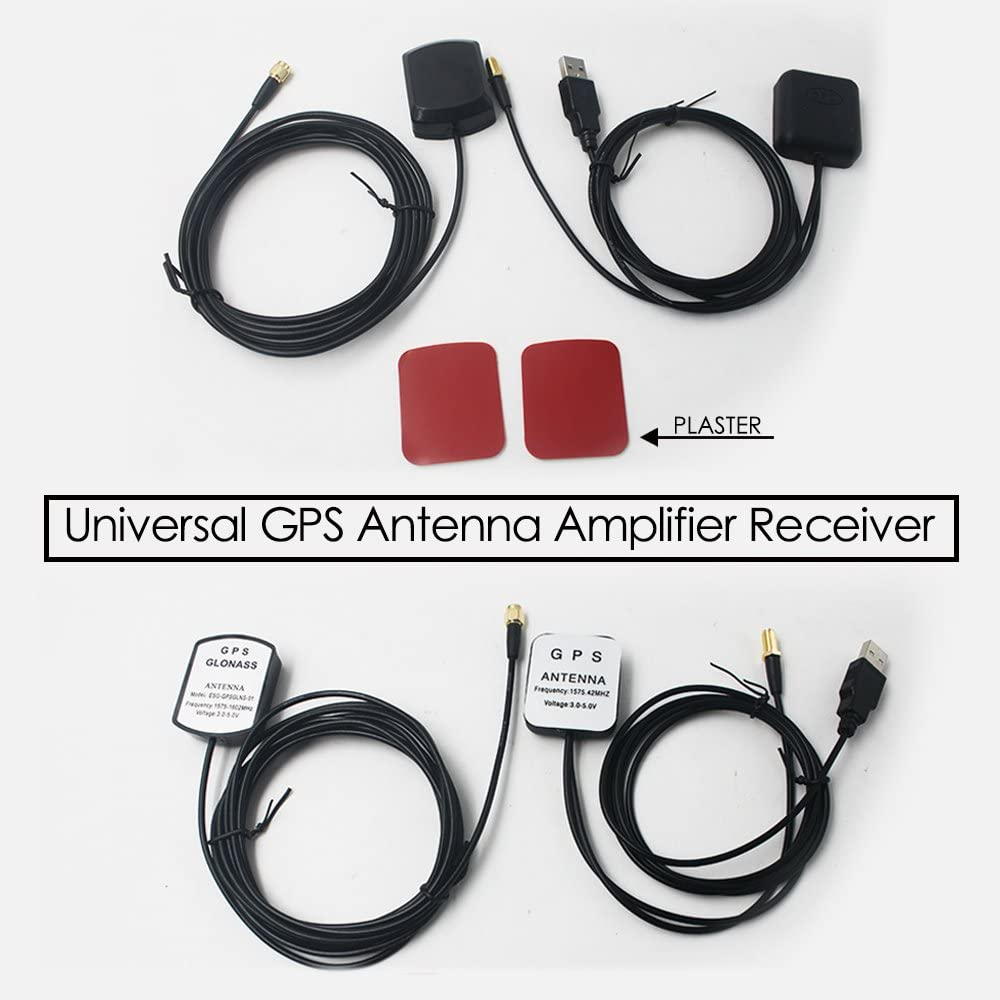 USB GPS Receiver For Car Laptop PC Navigation GPS Antenna Receive And Transmit E