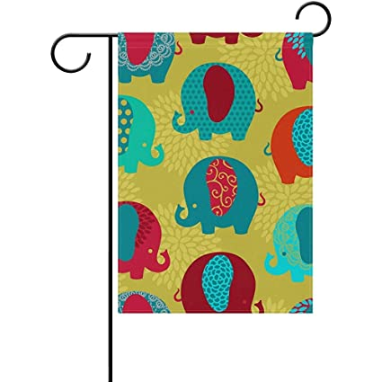 Amazon com : Staroind Cute Colorful Elephants Double-Sided