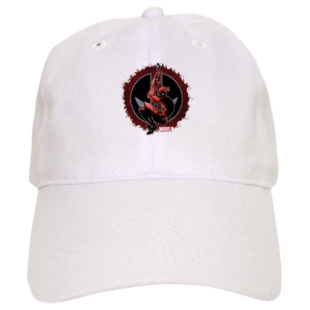 ba8403ea Amazon.com: CafePress Deadpool Sketch Baseball Cap with Adjustable ...