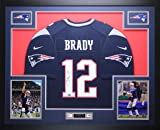 Tom Brady Autographed Blue Nike Patriots Jersey