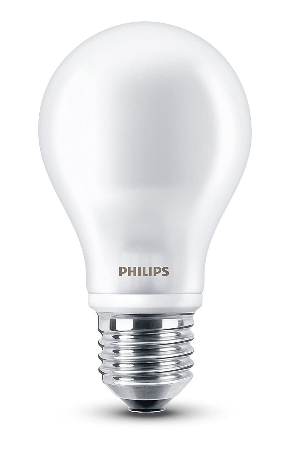 Philips LED, Bombilla LED estandar mate, 7W (60 W), casquillo gordo E27, Blanco cálido: Amazon.es: Industria, empresas y ciencia