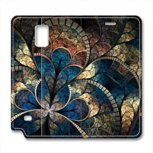 Samsung Note 4 leather Case,Samsung Note 4 Cases ,Ceiling Texture Custom Samsung Note 4 High-grade leather Cases
