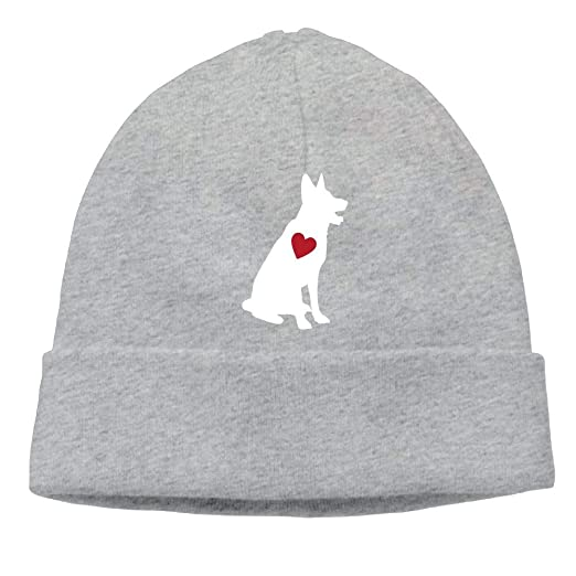 1f955f59120 Love German Shepherd Men   Women Sweat Wicking Cycling Beanie Skull ...