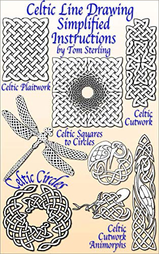Celtic Line Drawing  Simplified Instructions