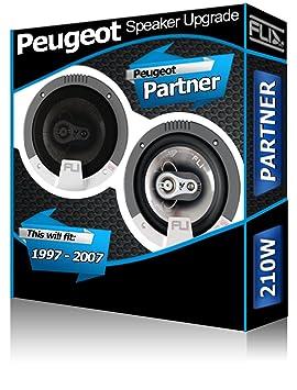 Porte Pour Haut Partner De Audio Orateurs Fli Avant Peugeot Parleur gv76bfYy