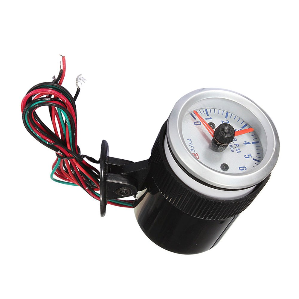 Cikuso universali 2 52mm LED tachimetro contagiri contachilometri RMP Moto Auto Bici