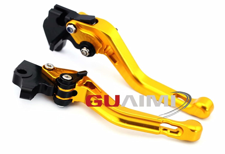 CNC kit court levier de frein et dembrayage aluminium pour Yamaha YZF-R125-2012-2013