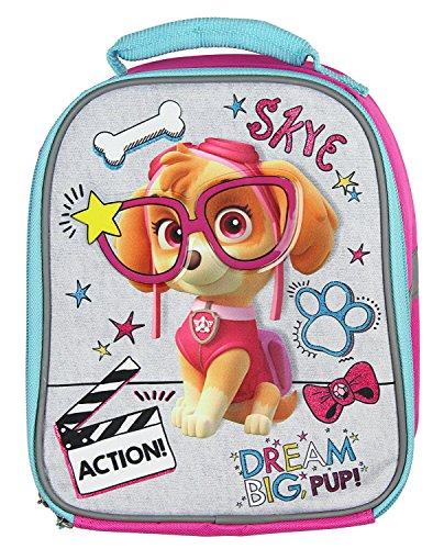 Skye Bag - Paw Patrol Lunch Box Soft Tote Kit Insulated Skye Dream Big Pup