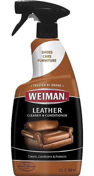Amazon.com: Weiman limpiador y acondicionador para cuero ...