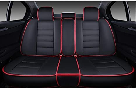 2 RED FRONT VEST CAR SEAT COVERS PROTECTORS FOR CITROEN C2