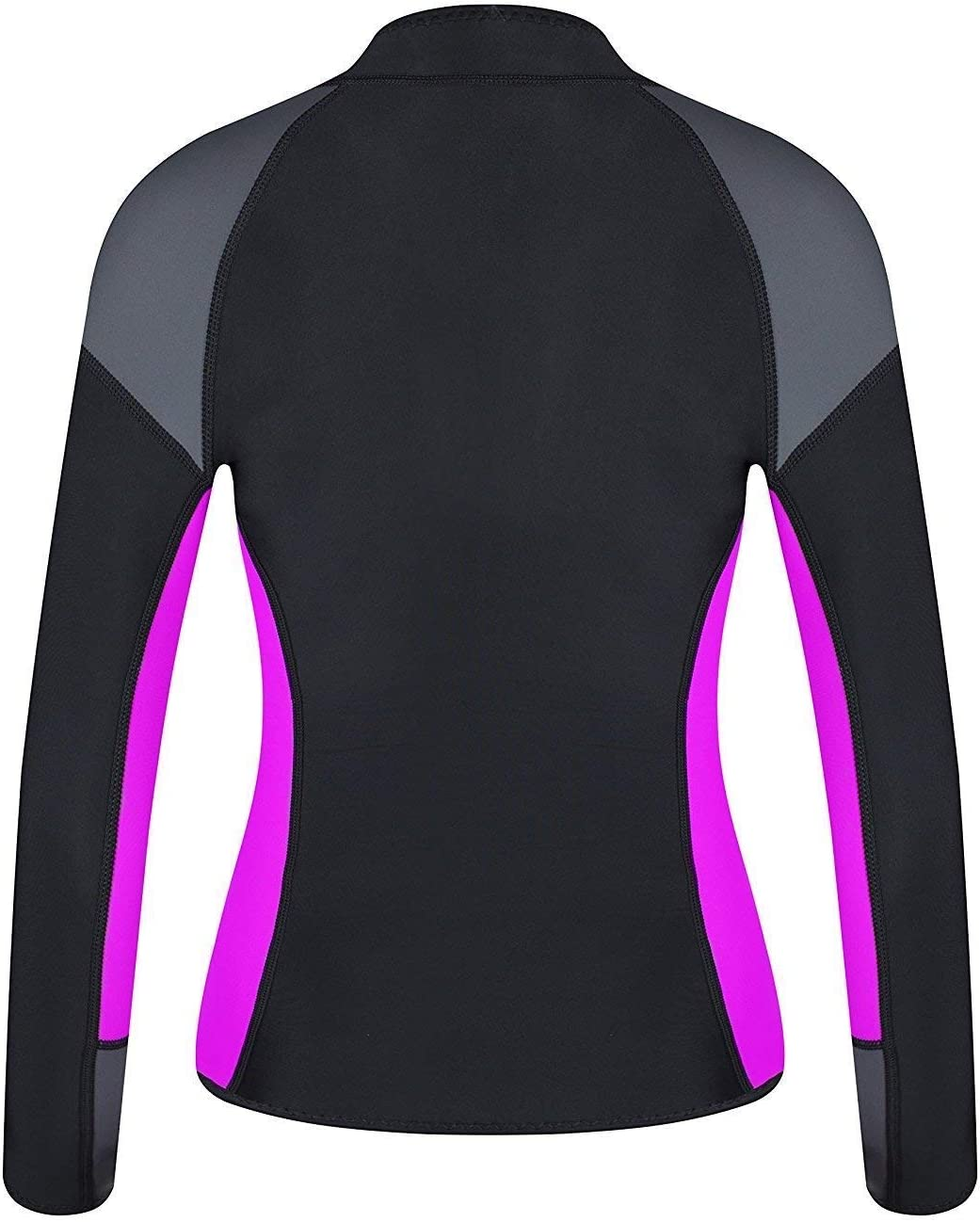 EYCE Women/'s 1.5 mm Wetsuits Jacket Long Sleeve Neoprene Wetsuit Top