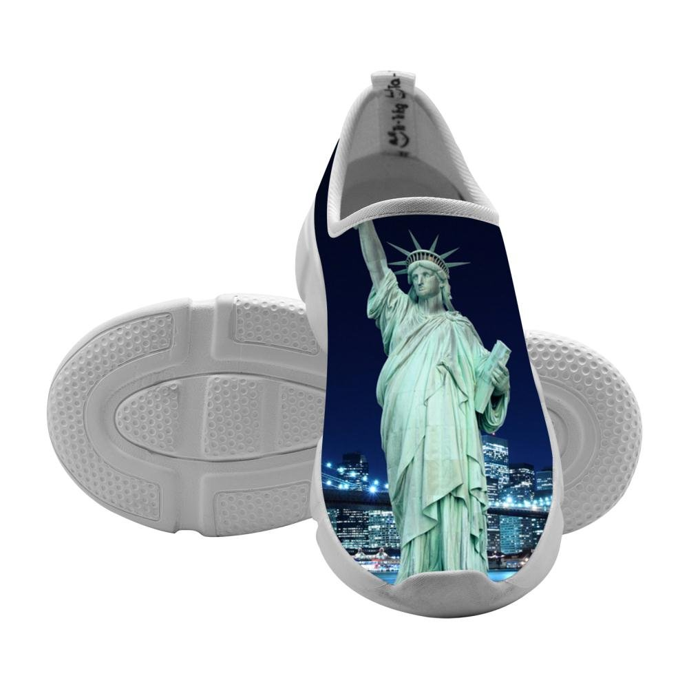 QsvMo Statue Of Liberty Kids Shallow Leisure Shoes Cool Footwear
