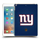 Official NFL Football New York Giants Logo Hard Back Case for iPad 9.7 2017 / iPad 9.7 2018