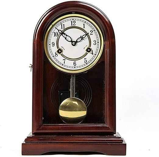 Relojes de mesa Reloj de Chimenea Europeos Decoración de Sala de ...