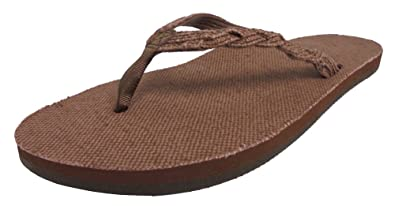 15f6ee5b798 Rainbow Sandals Women s Single Layer Hemp w a Braided Strap Natural